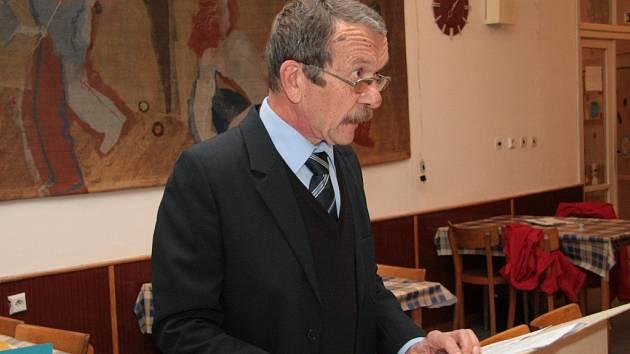 Starosta Zdíkova Zdeněk Kantořík