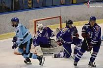 Vimperským hokejistům se v této sezoně proti Milevsku nedaří. Ilustrační foto.