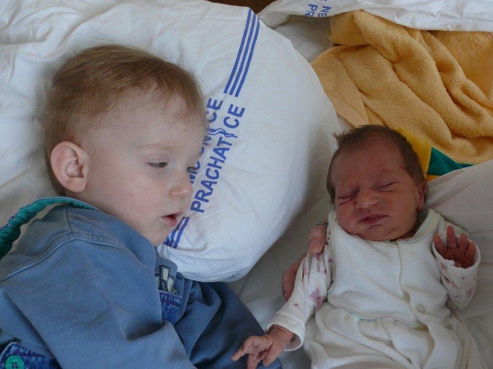 Markéta Šulcová se narodila v prachatické porodnici v pondělí 28. ledna v 01.40 hodin. Vážila 2450 gramů a měřila 45 centimetrů. Rodiče Klára a Martin jsou z Prachatic. Fotografování si nenechal ujít bráška Martin (19 měsíců).