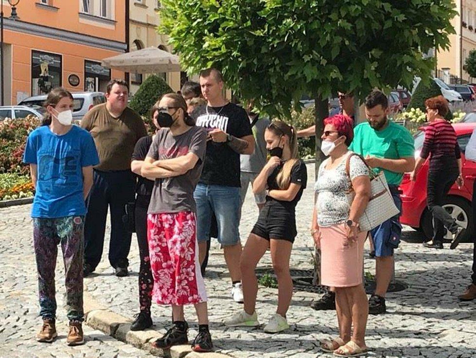 Mobilní očkovací tým z Prachatic vyjel do Vimperka.