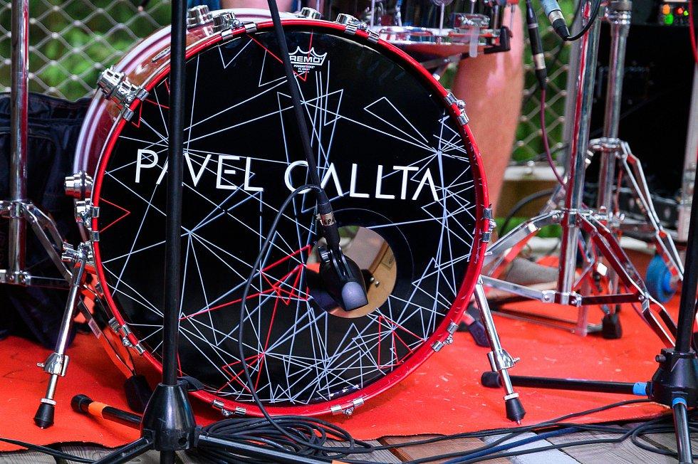 Pavel Calta vystoupil na Stezce korunami stromů v Lipně nad Vltavou.