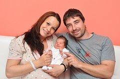Do Čkyně si ze strakonické porodnice přivezli rodiče Martina a Ondřej svou prvorozenou holčičku. Eliška Kopková se narodila ve čtvrtek 19. dubna tři minuty po jedné hodině odpoledne.
