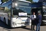 Dva ocenění řidiči autobusu