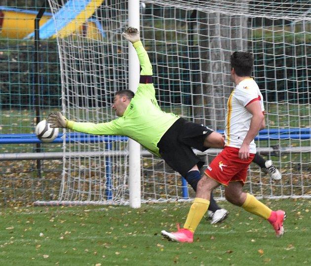 Prachatický Tatran prohrál na hřišti Junioru Strakonice 0:2.