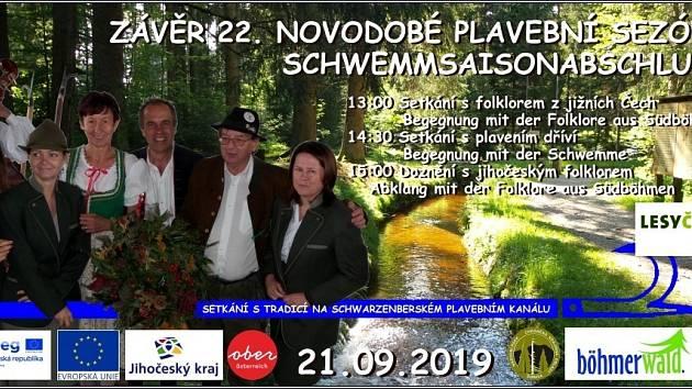 Zakončení sezony na Schwarzenberském plavebním kanále
