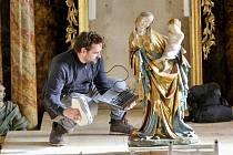 Restaurátoři používají pro výrobu kopie gotické sochy 3D skener.