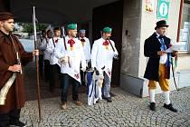 Oslavy založení města Vlachovo Březí.