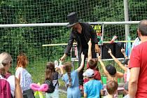 HusFest 2019 bavil celé odpoledne děti.