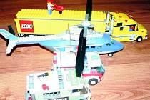 Různá vozidla budou do lego městečka také potřeba.