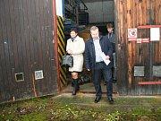 I přes mlhavé počasí přišel po návštěvě skladu nebezpečných látek čerstvý vzduch vhod.