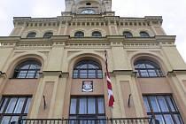 Budova městského úřadu Netolice.