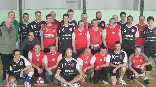Netolické volejbalové setkání s místními legendami.