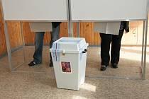 Podobně jako v Prachaticích, také Vimperk měl pro voliče velký hlasovací lístek.