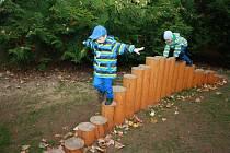 Areál arboreta bývalé lesnické školy město Vimperk upravilo a předalo veřejnosti k plnému užívání, odpočinku i zábavě.