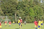 Nebahovy - Vitějovice 0:1.