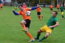 Vimperští fotbalisté porazili v okresním derby Prachatice 1:0.