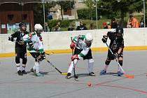 Prachatická Hihlanders aréna byla dějištěm zajímavého turnaje nejmenších hokejbalistů.