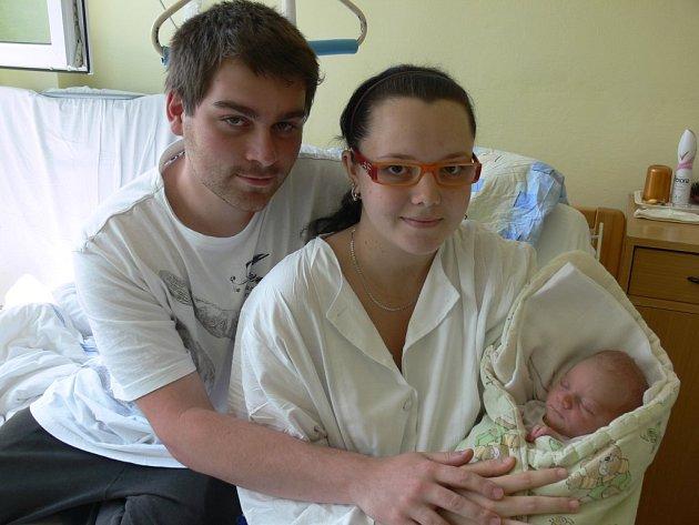 Jakub Rákosník  přišel na svět v prachatické porodnici 23. května 2012 ve 14.50 hodin, vážil 2900 gramů a měřil 48 centimetrů. Rodiče Tereza a Jakub si svého prvorozeného syna odvezou do Volar.