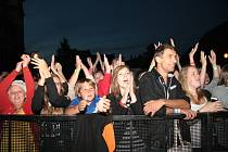 Hlavním tahákem Slavností Zlaté stezky jsou každoročně především večerní koncerty jak v pátek, tak v sobotu.