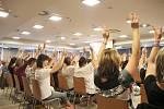 Smyslová aktivizace tělem i duší, byl název mezinárodní odborné konference v hotelu Clarion Congres v Českých Budějovicích.