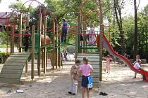 Hřiště u Volyňky projde rekonstrukcí.