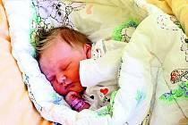 Anastázie Klasová, Vacov, 19. 5.2011 ve 02.08 hodin, 3380 gramů. Doma už čekají Tomáš (22 let), Kuba (19 let), Pavel (17 let) a Viktorka (4 roky).