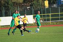 Fotbalová A třída: Tatran Prachatice - Olešnice 1:0.