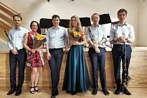 Dva koncerty, které absolvoval prachatický klarinetový soubor, se nesly v duchu skvělé odezvy publika, ale také i pomoci.