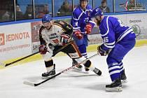Hokejová krajská liga: HC Vimperk - Jiskra Humpolec  2:3.