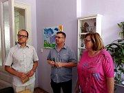 Návštěva zástupců prachatického KreBul v libereckém Kontaktu.