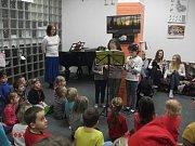 Vánoční koncert na Montessori patře.