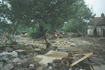 Psal se květen 1995 a Vlachovo Březí zasáhla ničivá povodeň.