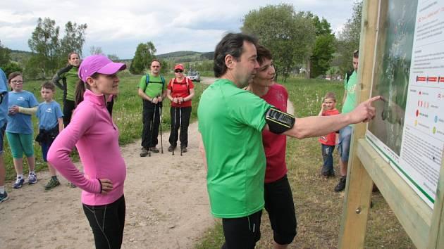 V pátek 29. května byly v okolí Volar předány veřejnosti do užívání nově vyznačené běžecké trasy.