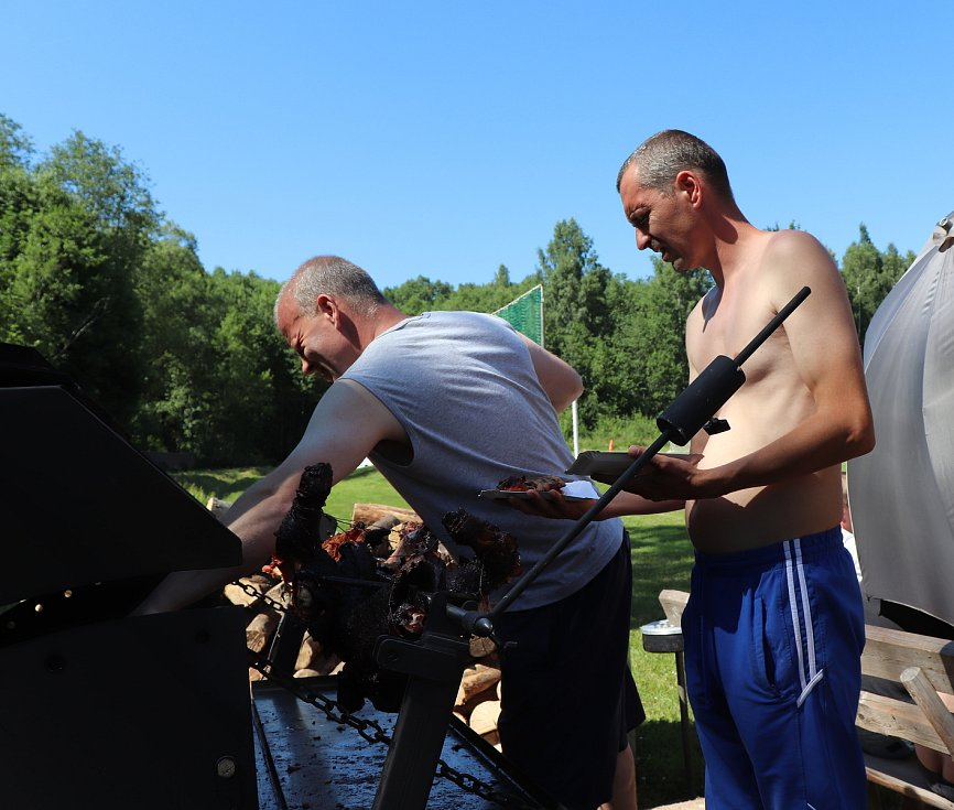 Fotbalisté v Horní Vltavici slavili třicátiny.