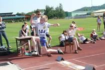 Atletická sportovní soutěž I. stupně na Prachaticku.