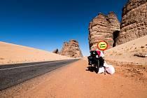 Putování po Saúdské Arábii je u konce. Tadeáš míří do Jordánska.
