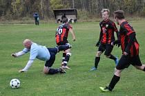 Horní Vltavice slaví první výhru sezony, porazila Zbytiny 2:1.