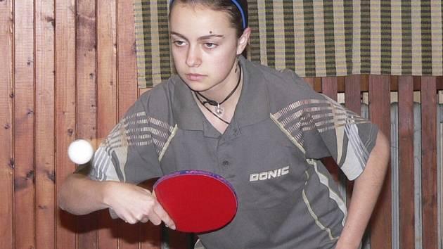 Dagmar Blašková v akci.