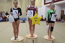 Vimperské gymnastky braly stříbro a bronz.