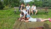 Osadníci ze Starých Prachatic vítali léto.