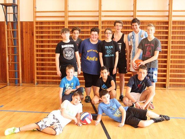 Zelený čtvrtek byl ve Volarech i trochu sportovní.