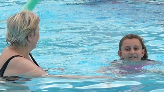 Bazén ušetří.
