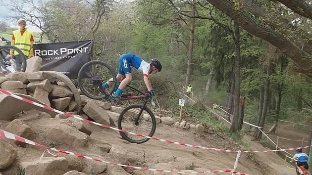 Vimperským bikerům se v Touškově dařilo.