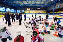 Vimperský HC pořádá pro děti akci v rámci projektu Pojď hrát hokej.