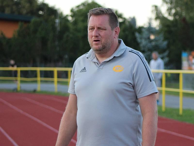 Josef Raušer, trenér Tatranu Prachatice.