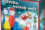 Krabice  nové hry Covide, nezlob mě!.