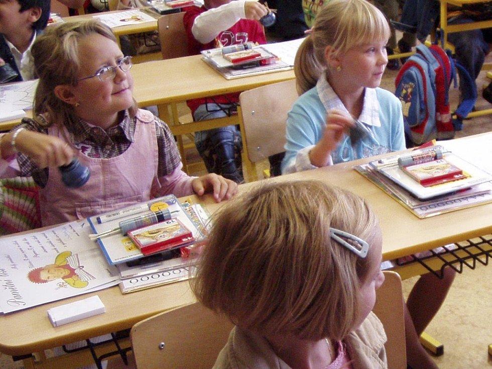 Vedení obce udělilo Základní škole ve Zbytinách výjimku z počtu žáků pro letošní školní rok. Ilustrační foto.
