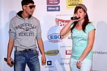 Reppy a SharkaSs se seznámili před dvěma lety. Letos bojují v soutěži ČeskoSlovensko má talent.