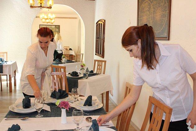 Školní restaurace Střední školy Vimperk Sv. Rafael. Ilustrační foto