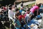 Střediska environmentální výchovy při Správě NP a CHKO Šumava uspořádala ve středu 23. dubna zábavné dopoledne ke Dni Země pro školáky z Vimperku.